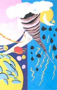 Loredana Cerveglieri • I pianeti, il cielo, il turbine